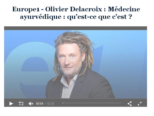 L'AYURVEDA, EXPLIQUÉ PAR FABIEN CORRECH