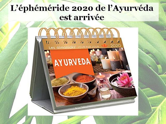 ALMANACH DE L'AYURVEDA 2020