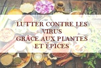 LUTTER CONTRE LES VIRUS GRÂCE AUX PLANTES & EPICES